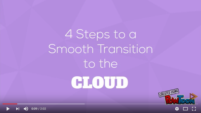 Smooth Transition to the Cloud