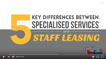 5 Key Differences Between Specialised Services and Staff Leasing