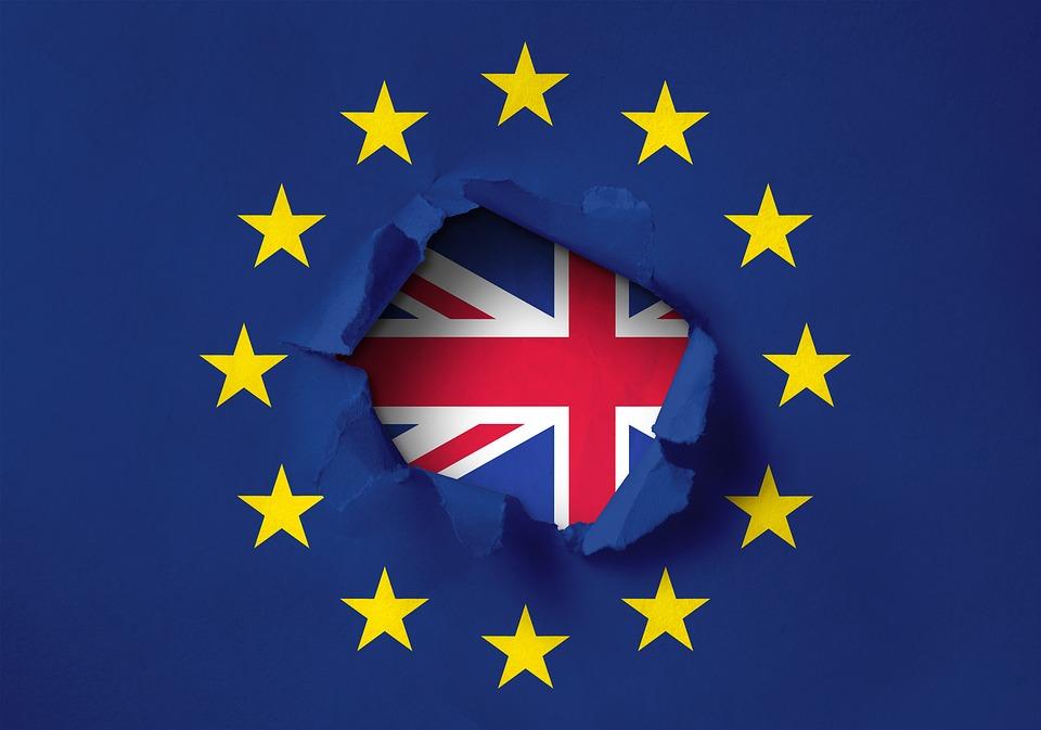 Brexit Britain exit European Union Flag