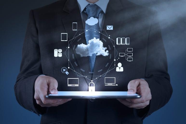 CFO going paperless business through the cloud platform