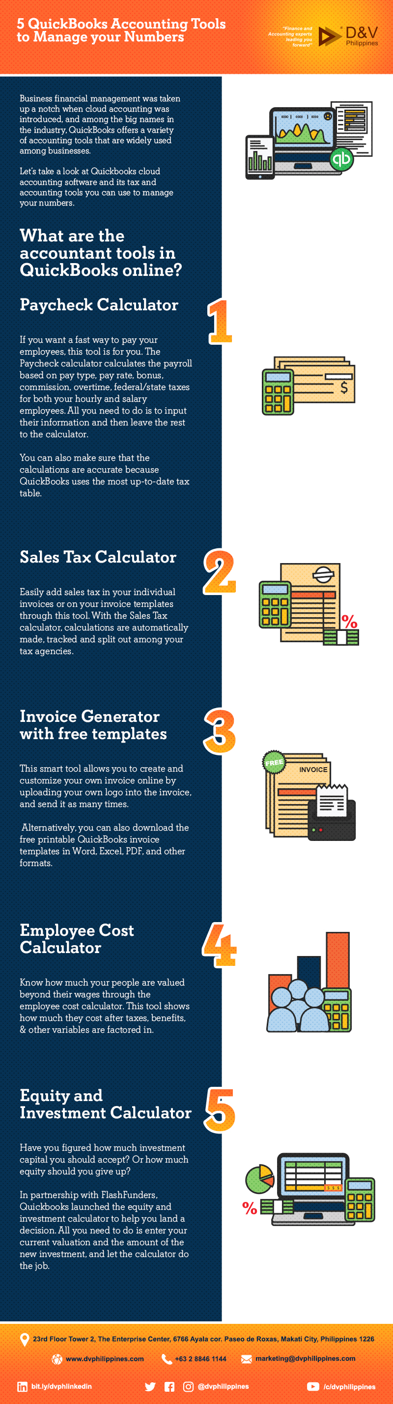 Infog_W_C_5 Quickbooks Accounting Tools to Manage your Numbers