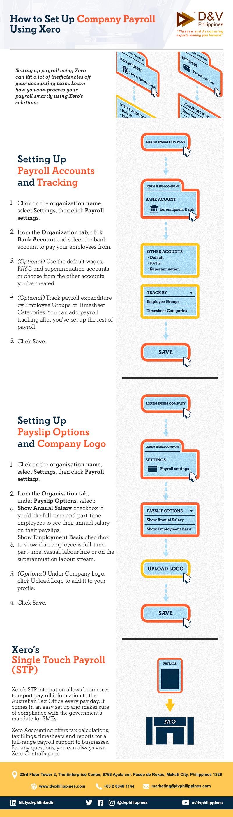 Infog_Xero-Payroll-Setup