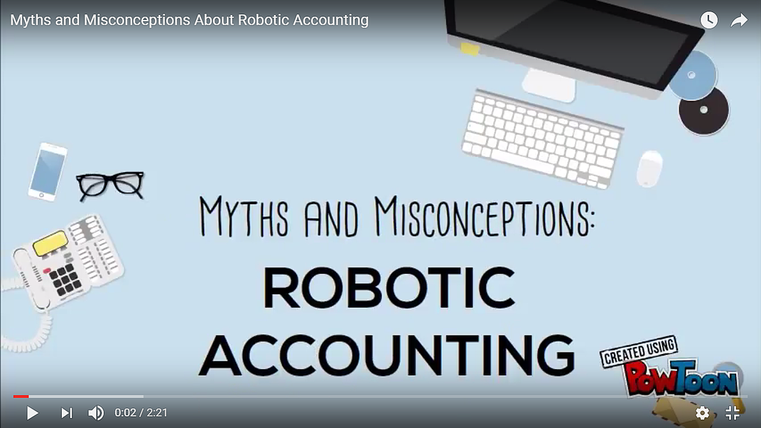 Myths and Misconceptions About Robotic Accounting