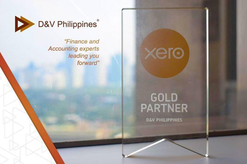 Xero Gold Partner D&V Philippines