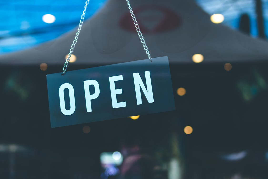 open store after registering e-commerce business