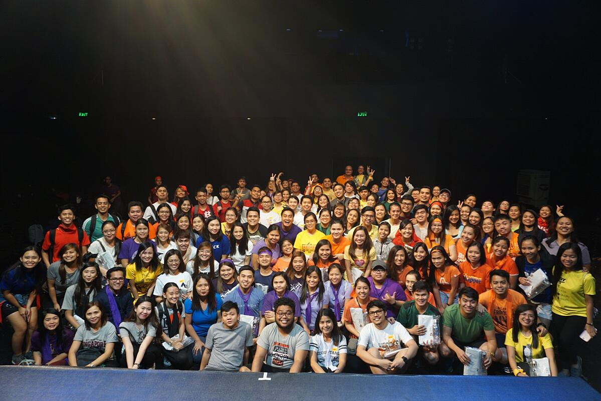 Team Building 2019 of D&V Philippines held at Power Mac Center Spotlight, Circuit Makati last April 27, 2019