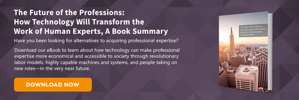 The Future of the Professions, A Book Summary