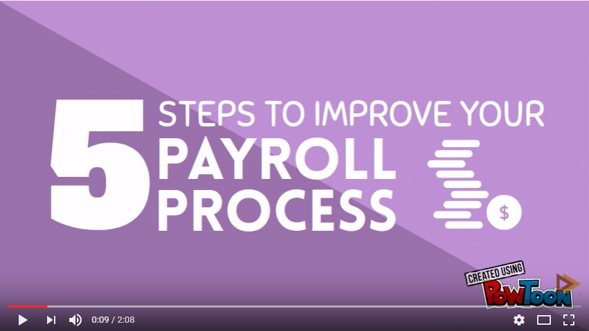 5 Steps to Improve Your Payroll Process