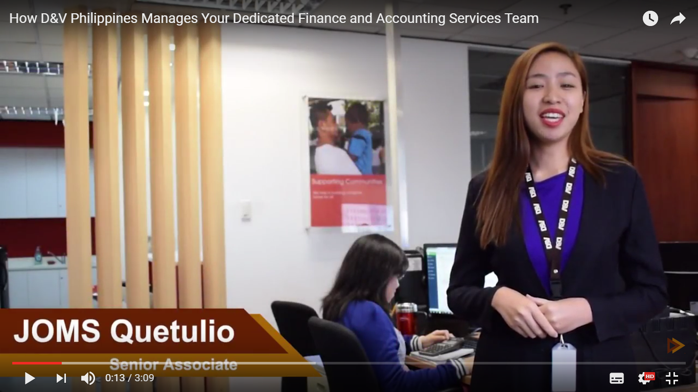 How D&V Philippines Manages Your Dedicated Finance and Accounting Services Team