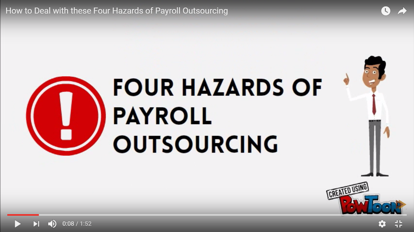How to Deal with these Four Hazards of Payroll Outsourcing