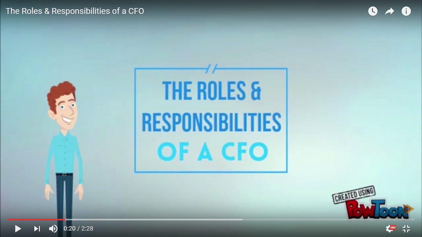 The Roles & Responsibilities of a CFO