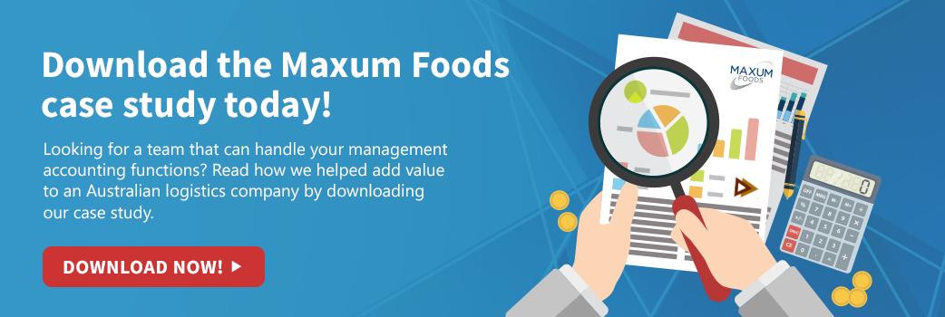 Maxum Foods Case Study