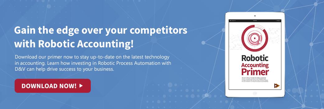 Robotic Accounting Primer